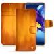 Lederschutzhülle Huawei Honor View 10 - Orange Patine