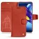 Lederschutzhülle Huawei Honor View 10 - Arange clouquié