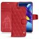 Lederschutzhülle Huawei Honor View 10 - Rouge troupelenc - Couture
