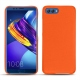 Lederschutzhülle Huawei Honor View 10 - Orange fluo