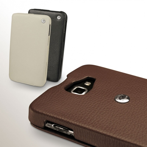 Housse cuir Samsung Galaxy Note