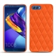 Lederschutzhülle Huawei Honor View 10 - Orange fluo - Couture