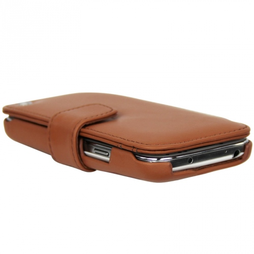 Housse cuir Samsung GT-i9190 Galaxy S4 mini