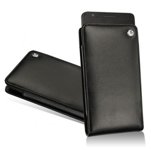 Pochette cuir  LG Optimus Black - LG Optimus White