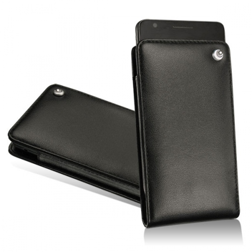 LG Optimus Black - LG Optimus White leather pouch