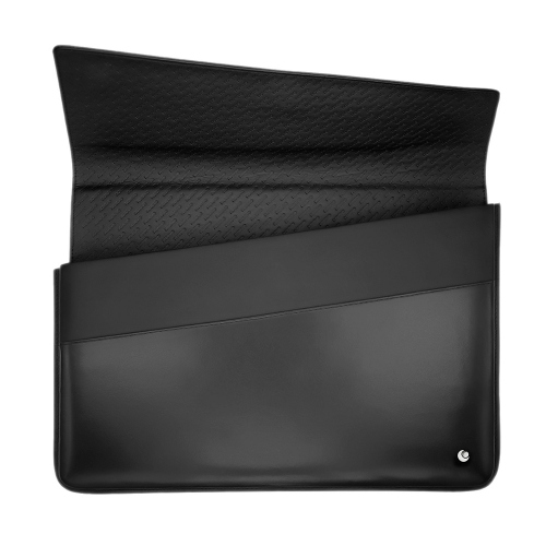 Leather sleeve for 15' laptop - Griffe 1