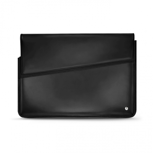 Leather sleeve for 13' laptop - Griffe 1