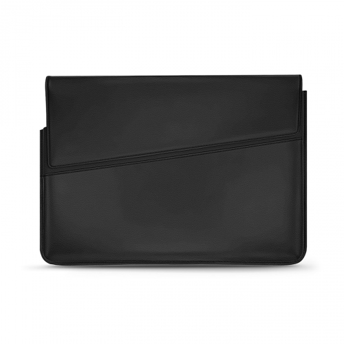 Leather sleeve for 13' laptop - Griffe 1 - Noir PU
