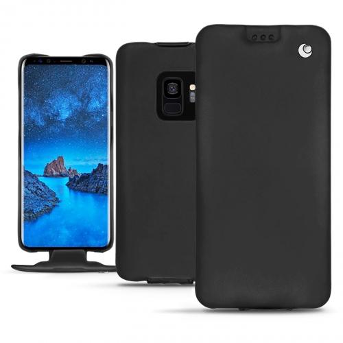 Housse cuir Samsung Galaxy S9 - Noir ( Nappa - Black )