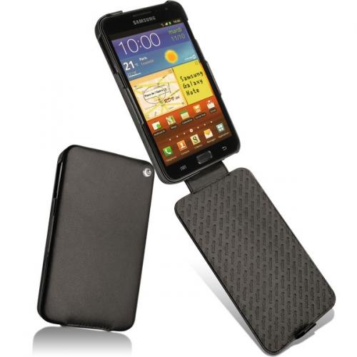 Housse cuir Samsung Galaxy Note  - Noir ( Nappa - Black )