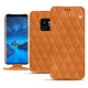 Samsung Galaxy S9 leather case - Mandarine vintage - Couture