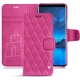 Housse cuir Samsung Galaxy S9 - Rose BB - Couture