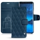Housse cuir Samsung Galaxy S9 - Blu mediterran - Couture