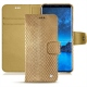 Samsung Galaxy S9 leather case - Serpent sabbia