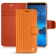 가죽 커버 Samsung Galaxy S9 - Abaca arancio