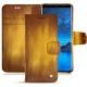 Housse cuir Samsung Galaxy S9 - Doré Patine