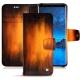 가죽 커버 Samsung Galaxy S9 - Fauve Patine