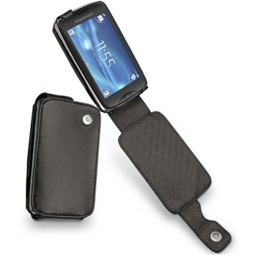 Sony Ericsson txt pro  leather case