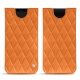Samsung Galaxy S9 leather pouch - Orange - Couture ( Nappa - Pantone 1495U )