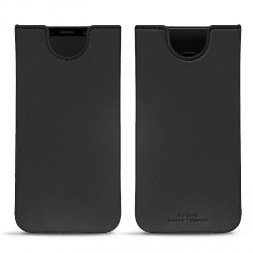 Pochette cuir Samsung Galaxy S9 - Noir PU