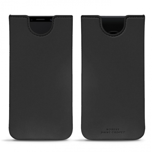 Samsung Galaxy S9 leather pouch - Noir PU