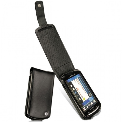 Housse cuir Sony Ericsson Xperia Pro
