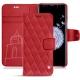 Lederschutzhülle Samsung Galaxy S9+ - Rouge troupelenc - Couture