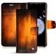 Housse cuir Samsung Galaxy S9+ - Fauve Patine