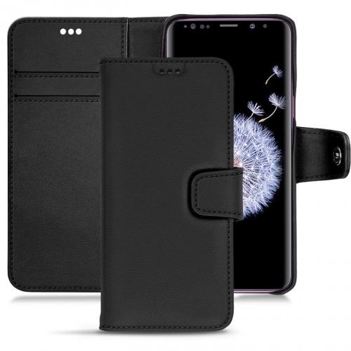 Lederschutzhülle Samsung Galaxy S9+ - Noir PU