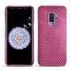 Coque cuir Samsung Galaxy S9+ - Serpent ciclamino