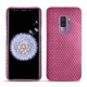 Samsung Galaxy S9+ leather cover - Serpent ciclamino