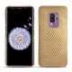 Samsung Galaxy S9+ leather cover - Serpent sabbia