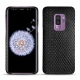 Samsung Galaxy S9+ leather cover - Serpent nero