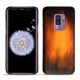 Samsung Galaxy S9+ leather cover - Fauve Patine