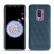 Samsung Galaxy S9+ leather cover - Indigo - Couture ( Pantone 303U )