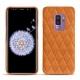 Custodia in pelle Samsung Galaxy S9+ - Mandarine vintage - Couture