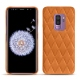 Samsung Galaxy S9+ leather cover - Mandarine vintage - Couture