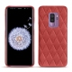 Samsung Galaxy S9+ leather cover - Cerise vintage - Couture