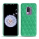 Samsung Galaxy S9+ leather cover - Menthe vintage - Couture
