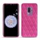 Coque cuir Samsung Galaxy S9+ - Rose BB - Couture