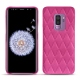 Samsung Galaxy S9+ leather cover - Rose BB - Couture