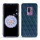 Coque cuir Samsung Galaxy S9+ - Blu mediterran - Couture