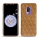 Samsung Galaxy S9+ leather cover - Castan esparciate - Couture