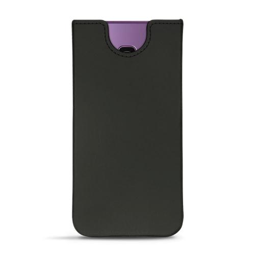 Pochette cuir Samsung Galaxy S9+