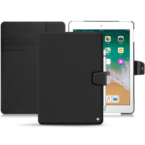 """Capa em pele Apple iPad 9.7"""" (2018) - Noir ( Nappa - Black )"""