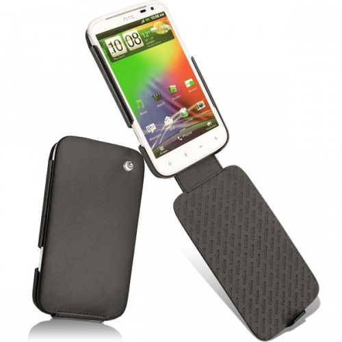 HTC Sensation XL  leather case