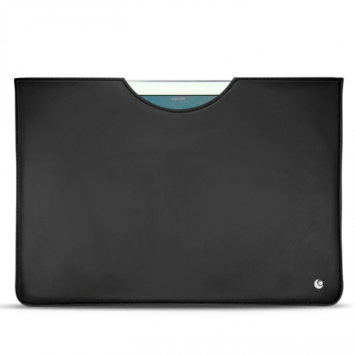 "Apple iPad 9.7"" (2017) leather pouch - Noir ( Nappa - Black )"