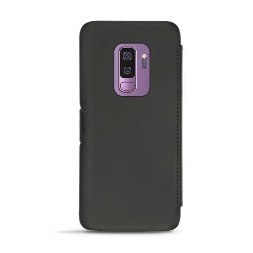 Housse cuir Samsung Galaxy S9+