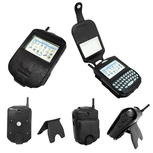 Leather case BlackBerry 7520  - Noir ( Nappa - Black )