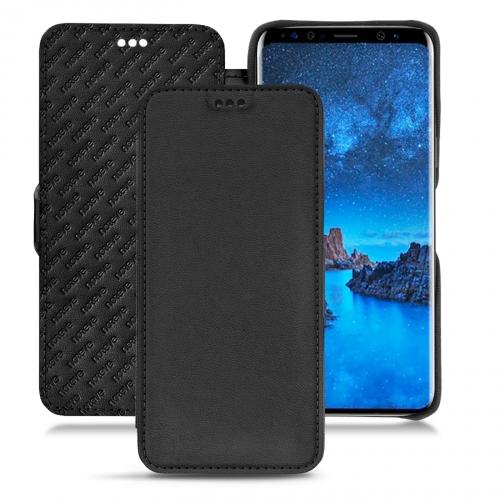 Housse cuir Samsung Galaxy S9 - Noir PU